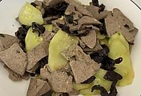 #中秋宴,名厨味#黄瓜木耳小炒猪肝的做法