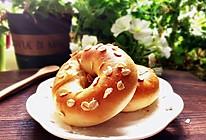 明媚的健康快手面包——燕麦原味贝果的做法