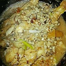 扒皮鱼炖薏米