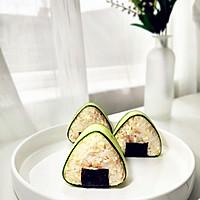 金枪鱼豆腐饭团的做法图解7