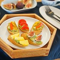 创意早餐|开放式三明治,随心所欲 #花10分钟,做一道菜#的做法图解6