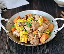 铁锅时蔬炖鸡块#好吃不上火#的做法