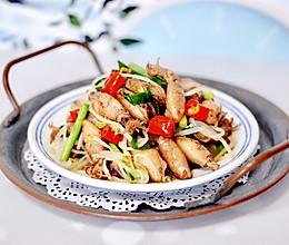 #甜粽VS咸粽,你是哪一党?#海兔绿豆芽小炒的做法
