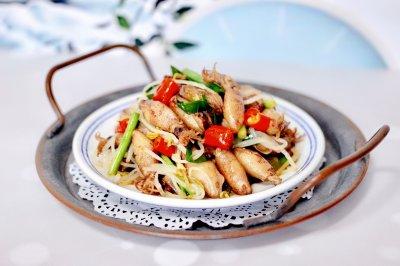 #甜粽VS咸粽,你是哪一党?#海兔绿豆芽小炒
