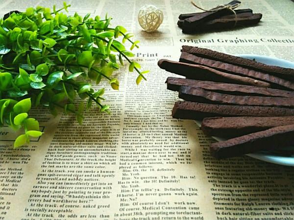 香醇巧克力棒–––融化吃货的心的做法