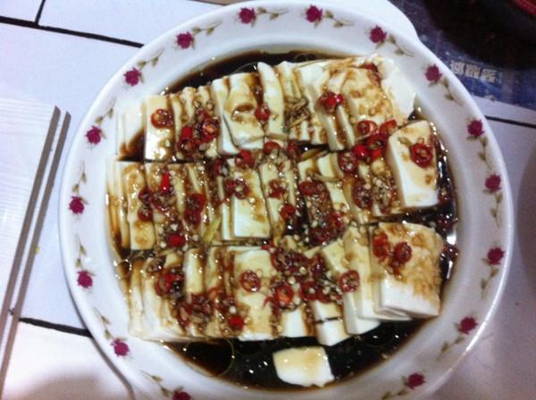 龙口粉丝蒸嫩豆腐的做法