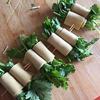 #硬核菜谱制作人#烤菜卷的做法图解7