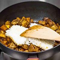 南瓜排骨焖饭的做法图解9