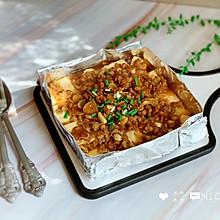 #肉食者联盟#锡纸烤豆腐