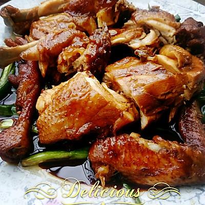 简单版豉油鸡,电饭锅做出的美味