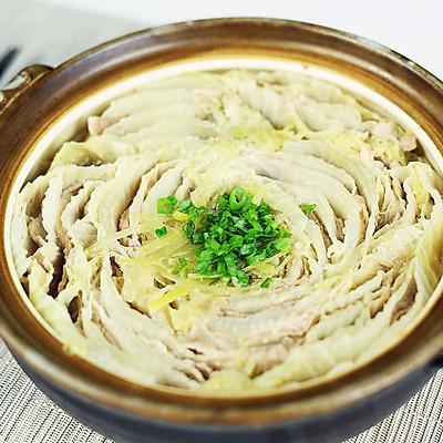 五花肉白菜千层锅