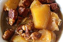 白萝卜炖牛腩(萝卜牛腩煲)的做法