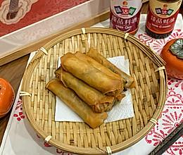 #味达美名厨福气汁,新春添口福#我家的年菜:五福春卷的做法
