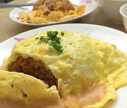 姜食堂的蛋包饭的做法