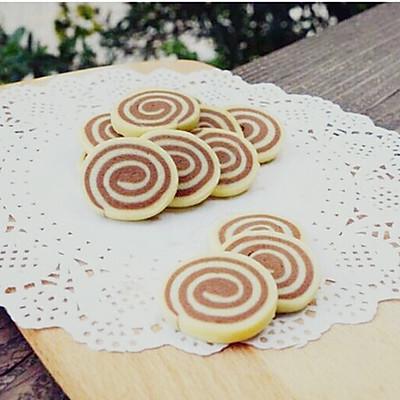 巧克力双色饼干