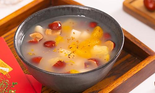 【水果羹】饭后消食妙方:水果煮着吃!的做法