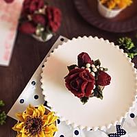 向日葵裱花巧克力杯子蛋糕#美的FUN烤箱·焙有FUN儿#