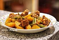 排骨炖土豆豆角的做法