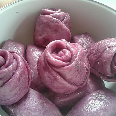 紫薯爱心小馒头