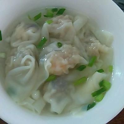 广东人的鲜虾香菇云吞