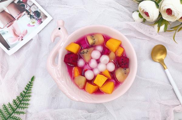 #带着美食去踏青#缤纷水果小圆子