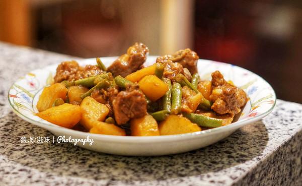 排骨炖土豆豆角