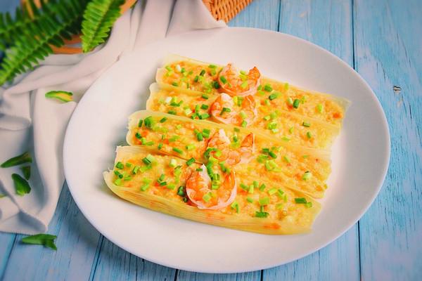 快手蒸菜——玉米芙蓉虾的做法