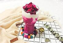 火龙果酸奶奶昔的做法