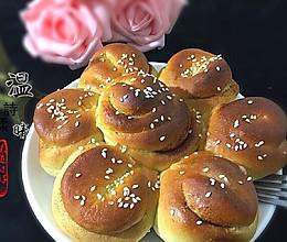 花朵肉桂面包#东菱魔法云面包机#的做法