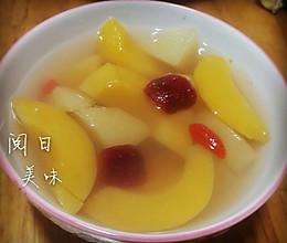 枸杞养生水果罐头的做法