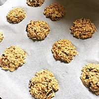 低糖无脂燕麦饼干 减肥零食的做法图解3