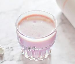 紫薯燕麦奶昔的做法