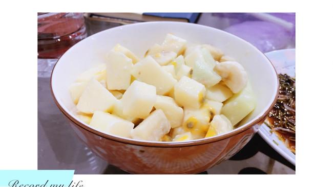 百香果酱水果沙拉的做法