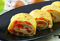 西红柿鸡蛋卷的做法