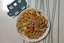 虾段杂蔬蛋炒饭的做法