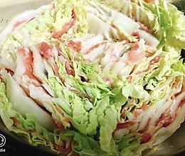 白菜肥牛卷加些金针菇的做法
