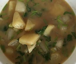 土豆萝卜汤的做法