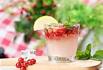 夏日特饮樱桃莫吉托柠檬水的做法