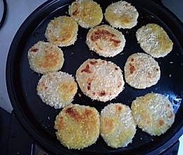 糯米粉苹果饼的做法