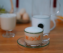 奶泡焦糖奶茶
