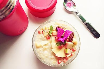 营养又美味的【缤纷水果粥】#膳魔师 · 妈妈的一粥一汤#