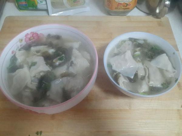 鸡汤馄饨,菏泽定陶的做法