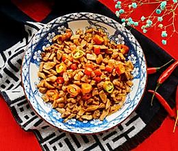 #憋在家里吃什么#小时候的味道~辣炒萝卜干的做法
