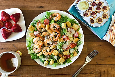 Butter Shrimps Salad