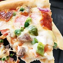 家庭版烤披萨