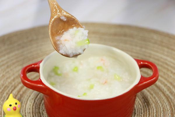 黄瓜虾仁粥