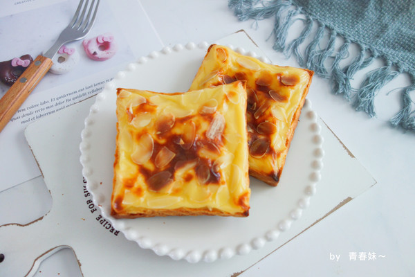 熔岩乳酪吐司的做法