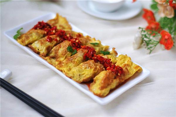 香葱鸡蛋饺子的做法