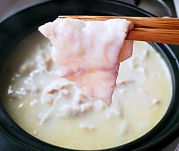 乌(黑)鱼片汤(奶汤无刺)的做法