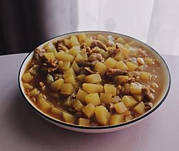 简易版咖喱土豆肉片的做法